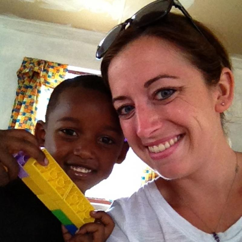 Sarah B in South Africa